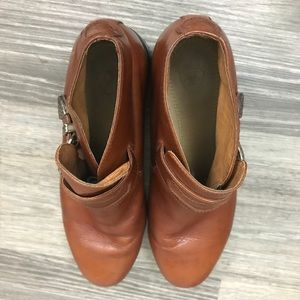 Ariat Shoes - Ariat Brown Leather Western Booties, Size 8B